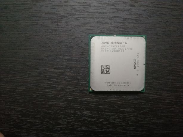Процессор AMD Athlon II X4 635 2900mhz s.AM2+/AM3 socket