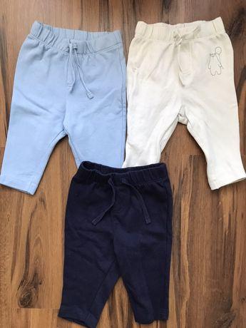 Spodnie dresowe 62/68 zestaw