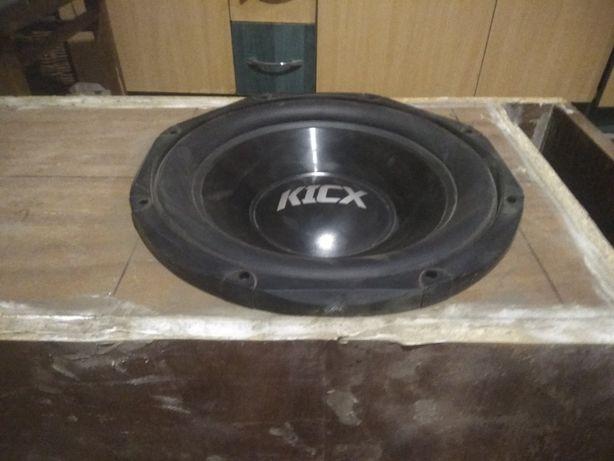 Сабвуфер Kicx STQ 300 max 800Вт