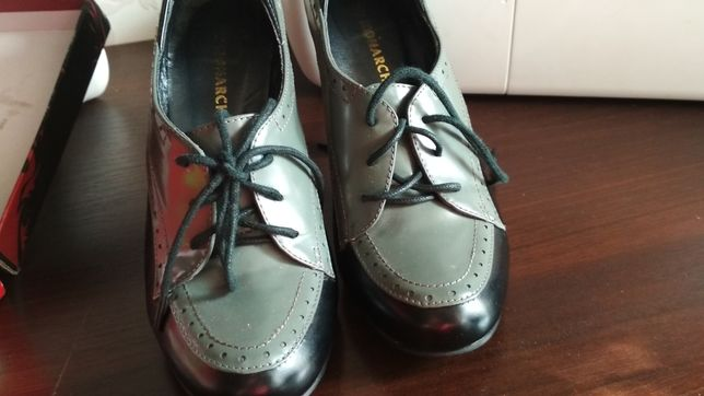 Туфли на весну, осень,можно в офис,кожа, покупали в магазине Монарх