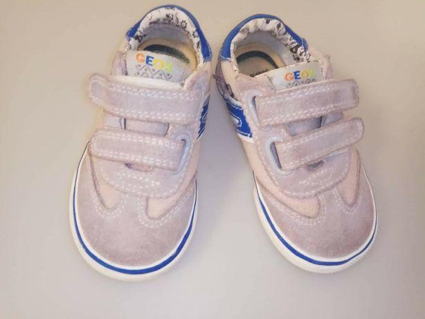 Стильные кроссовки из замши Geox, оригинал