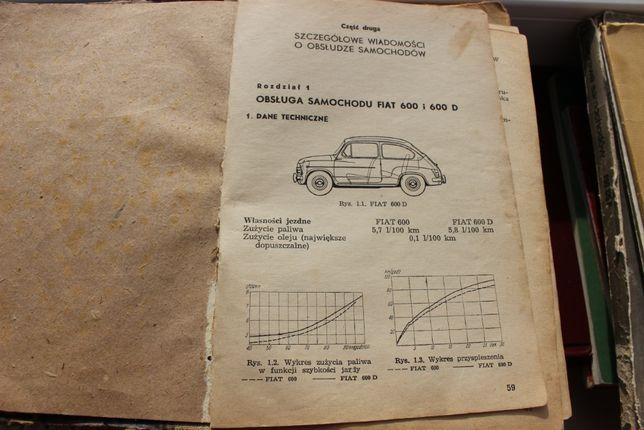 Obsługa Fiat 600 i 600D