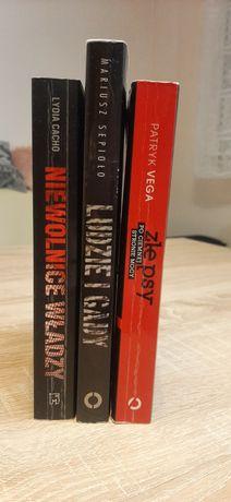 Zestaw książek kryminalnych