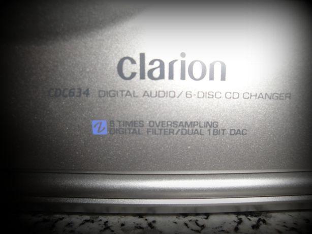 Caixa de 6 CD´S CLARION CDC 634