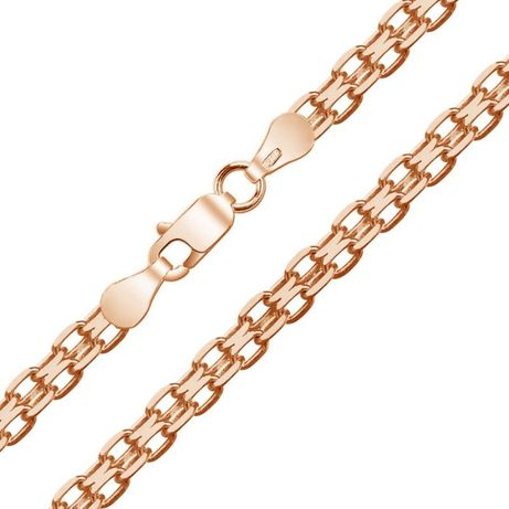 Золотий ланцюг ЯКОРНИЙ (подвійний). Золотая цепочка