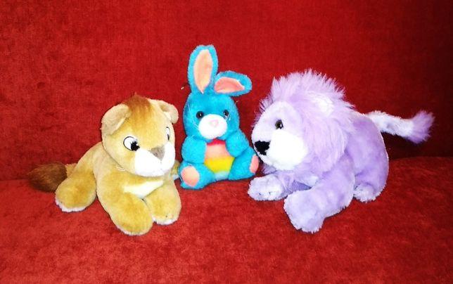 Мягкие игрушки длина 17 см, 70 грн за три штуки или в розницу.