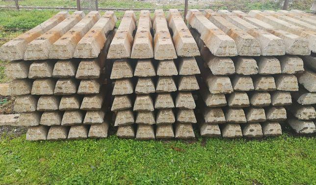 Podkłady kolejowe betonowe zbrojone utwardzenie droga plac beton