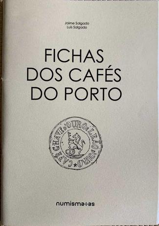 Numismática - Caderno: Fichas dos Cafés do Porto