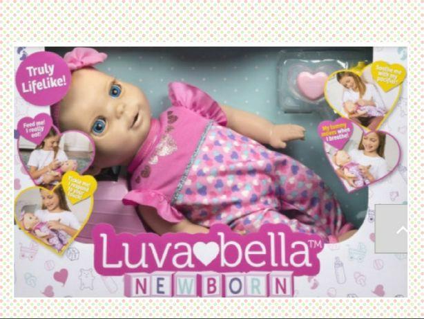 Interaktywna lalka Luvabella newborn Luva bella nowa prezent
