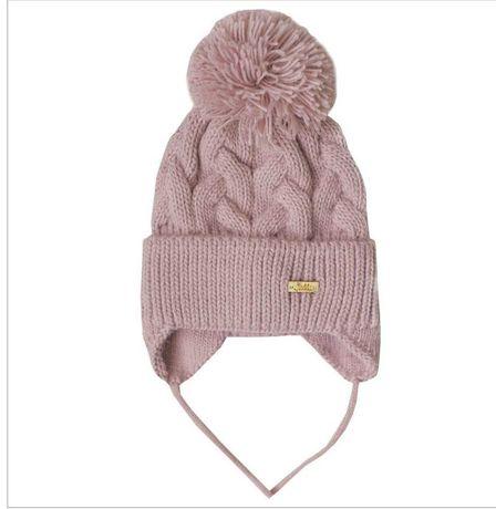 "Теплая зимняя шапка для деток от 0 до 8 мес. ТМ ""Габби"""