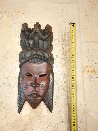 """Maska z Tunezji """"Trzy małpy"""""""