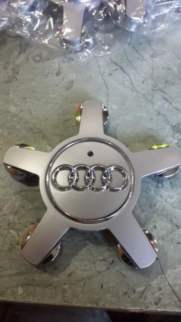 Заглушки на литой диски Audi, звезда 4F0601165N