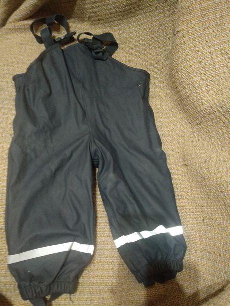 Прорезиненные штаны комбинезон дождевик lupilu 86/92 размер