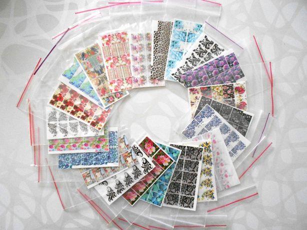 Распродажа материалов для дизайна ногтей, слайдеры, блёстки