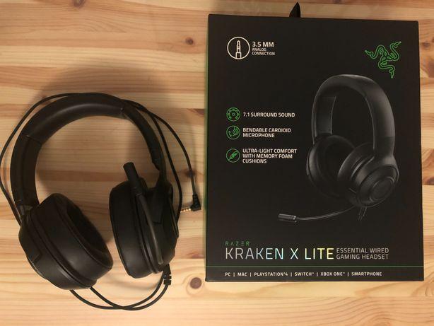 RAZER KRAKEN X LITE headset słuchawki gamingowe