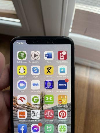 iPhone X 64 GB skaza na ekranie