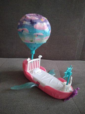 Barbie steffi Latające łóżko z balonem