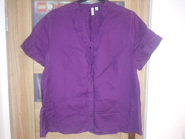 Fioletowa koszula ok 46