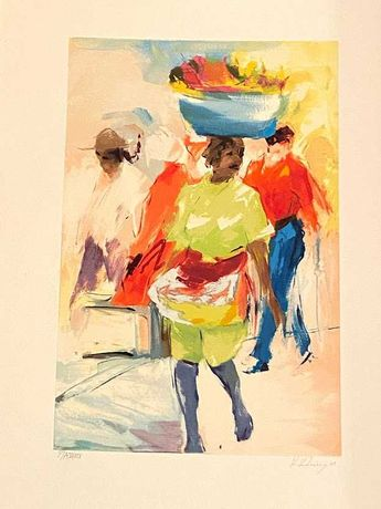 Serigrafia de Kiki Lima