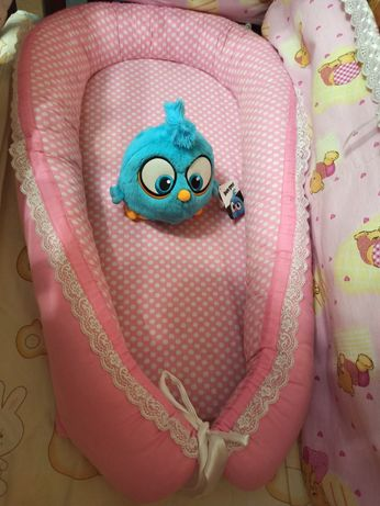Кокон( гнездо)+бортики+подушка для новорожденных