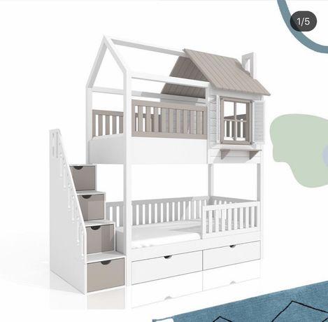 кровать двухъярусная Афина, ліжко воповерхове, двухярусная кровать