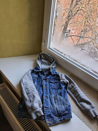джинсовая куртка zara 6 -7