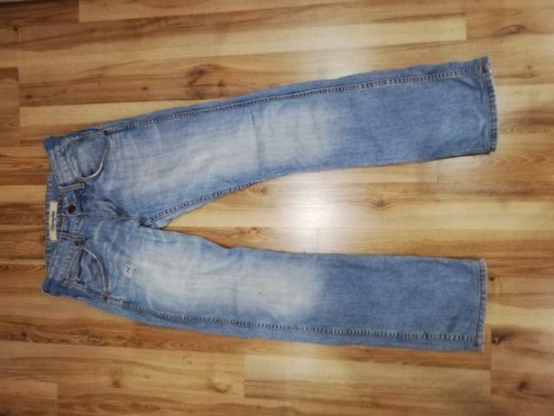 Spodnie JEANS WRANGLER 100 cm długości od pasa do nogawki