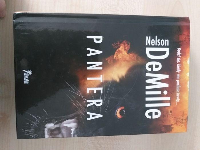 Książka pantera  Nelson DeMille Krotoszyn - image 1