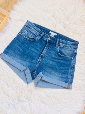 Szorty jeansowe h&m 34