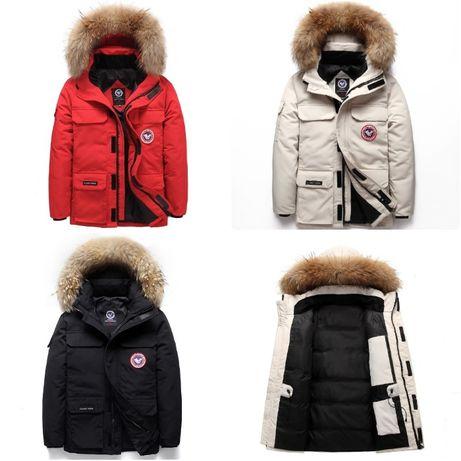 Мужской зимний пуховик куртка. 4 цвета! Размеры 44-50