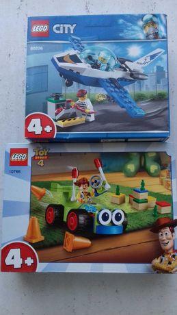 Lego toy story i samolot nowe