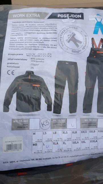 Nowe spodnie robocze L