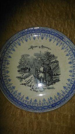 тарелка коллекционная Путешествие в Россию.