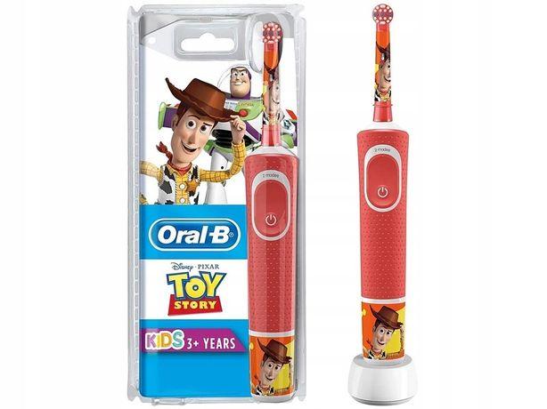 Nowa Szczoteczka rotacyjna ORAL-B D100 Toy Story