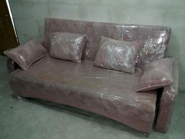 """Продам диван б/у (еврокнижка) (модель """"Мадрид"""", 2009 г) розовый"""