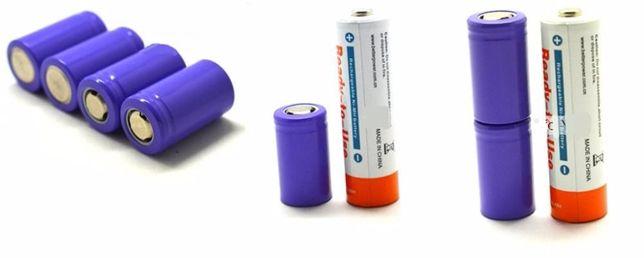 Bateria Recarregável Li-ion 14250 (uso industrial) | 3.7V | 280mAh |