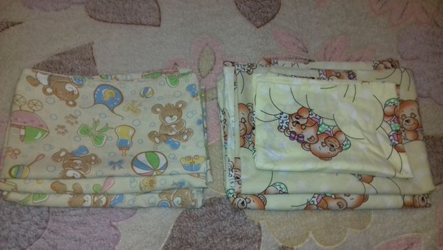 Детское постельное в кроватку (60*120см)