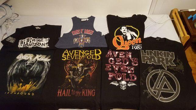Tshirts Bandas Metal Rock Avenged Sevenfold BMTH Asking Alexandria