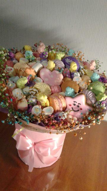 Букет из сладостей