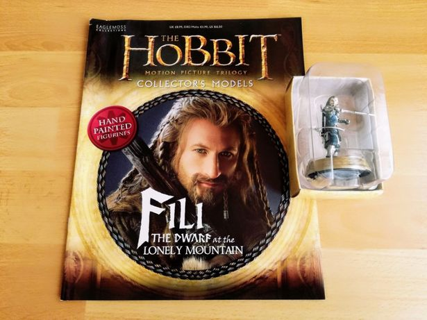 figurka+magazyn - HOBBIT - Fili, kolekcja Eaglemoss