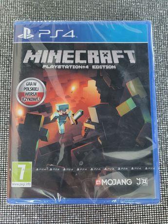 Gra Minecraft Playstation 4 Edition PL w folii dla dzieci Ps4 Nowa