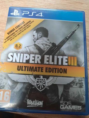 Snaiper elite 3 ps4