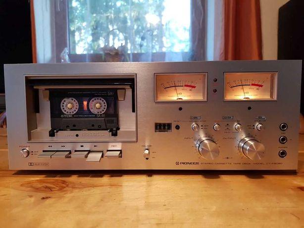 Deck Vintage! Magnetofon PIONEER CT-F8080 /Wychyły! Piękny Stan!