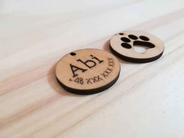 Adresówka dla psa, akcesoria dla miłośników zwierząt, bransoletka