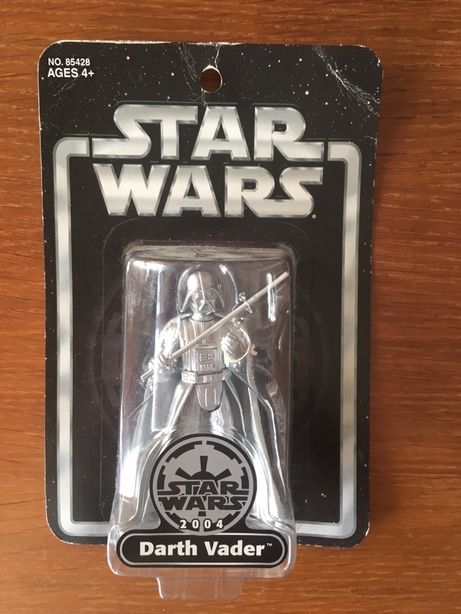 2 Darth Vader Silver Edition e Star Wars Clone Trooper