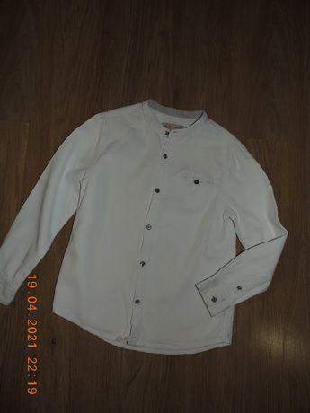 Сорочка рубашка 7-8р.Zara белая біла