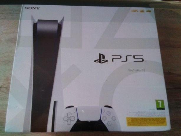PS5 z napędem nowa + TLOU2 w  stilbook'u  .Od ręki.