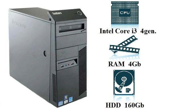 Компьютер, системный блок, ПК, Core I3, 4430, 4 Гб ОЗУ, HDD 160 Гб