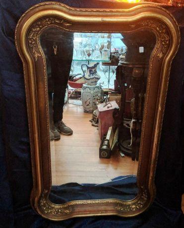 Espelho Madeira Dourada