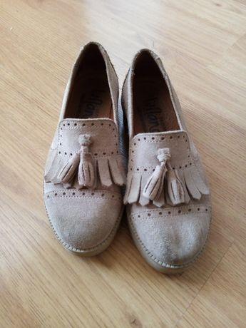 Sapatos de criança 31 em pele